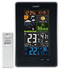 Nero la Crosse Technology Ws6835-bla - Stazione meteorologica con Schermo (5qj)