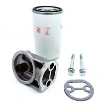 SPIN ON OIL FILTER CONVERSION KIT FITS MASSEY FERGUSON 230 240 250 550 TRACTORS