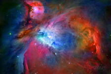 Orion Nebula Enhanced Space Photo Poster Print Poster Print, 19x13