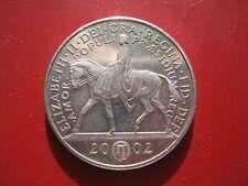 UK British 1952 - 2002 Queen's Golden Jubilee £5 Pound Coin in good grade