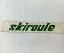 "Skiroule Vintage Snowmobile Logo Sticker Decal 4 1/2"" X 3/4"" Nos"