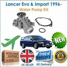 Per Mitsubishi Lancer EVO 4 5 6 7 8 9 & importa 2.0 Turbo 1996-POMPA ACQUA KIT