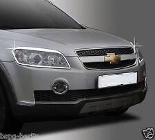 Zubehör für Chevrolet Captiva 2006-2010 Chrom Scheinwerferrahmen Molding Tuning