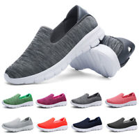 Womens Casual Sneakers Flats Loafers Stretch Sole Tennis Walking Jogging Shoes