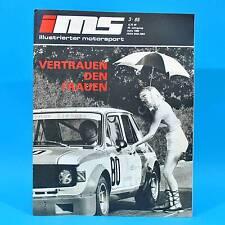 DDR Illustrierter Motorsport IMS 3/1985 Bergrennen Coswig Senftenberg Zwickau