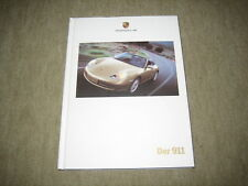 Porsche 911 (996) Hardcover Prospekt Brochure von 9/1999, 114 Seiten