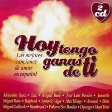 HOY TENGO GANAS DE TI - 2CDS [CD]
