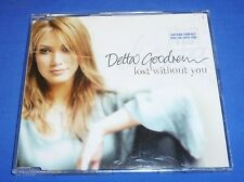 Delta Goodrem Lost Without You Single CD 3 Tracks Australia 6735452 My Own Time