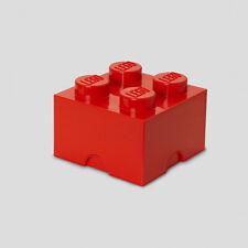 Lego Aufbewahrungsbox 4er-stein Hellblau