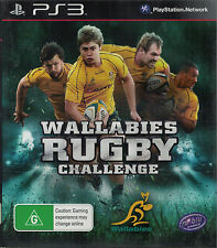 Wallabies Rugby Challenge, Sony Playstation 3 game Complete, PS3, USED