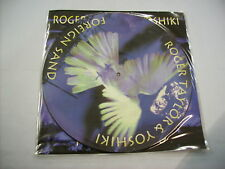 """ROGER TAYLOR - FOREIGN SAND - 12"""" PICTURE VINYL 1994 BRAND NEW - COPY # 2999"""