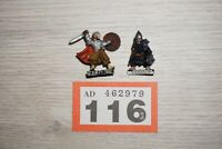 LOT 116 - Warhammer LOTR Lord Of The Rings Merry & Pippin Armoured - Metal
