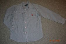 NEW! US POLO Boys Casual Dress T-Shirt Long/Short Sleeve Fit Size 14-16