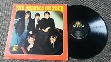 "THE ANIMALS "" On tour"" LP"