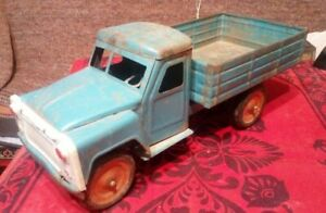 Vintage big toy metal truck LTZ. Soviet Russia USSR 70s. rare model