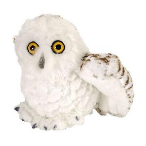 "Wild Republic Hedwig Snowy Owl Soft Animal Plush Toy 8""/20cm **FREE DELIVERY**"
