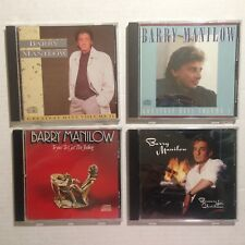 Lot of 4 Barry Manilow CDs Greatest Hits Vol 1 2 Christmas Trying to Get Feeling