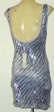 Clubwear Textured Sheath Dresses for Women