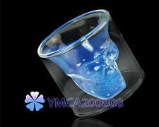 Creativo Vaso Interior Calavera Cristal Taza Agua Vino para Halloween Fiesta