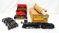 1951 American Flyer Atlantic 3 Car Freight Train BOXED Set 300AC Reading Metal
