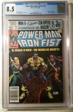Power Man and Iron Fist #78 - CGC 8.5 - 3rd app. Sabretooth