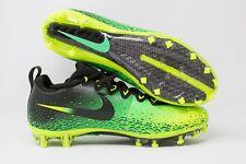 Nike Vapor Untouchable Pro Football Cleats Sz 10 Electro Green/Volt 833385-373
