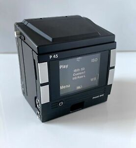 Phase One P45 Digital  Back for Hasselblad V Style Mount - low capture count