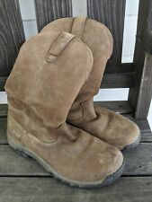 Ariat Ladies Women's Pull-On H2O Brown Waterproof Boots 10011845 Sz. 9