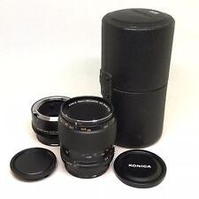 Konica Macro-Hexanon AR 55mm F3.5 With Macro Lens Adapter AR - MAKE OFFER