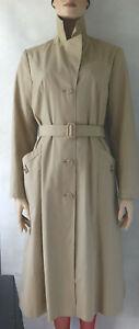 Ladies Vintage 1970's Long mackintosh trench Coat Size 12 - 14