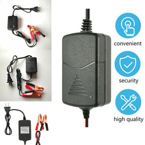 Smart Battery Charger Maintainer Wrong Connection Protection For 12V Car Truck