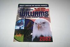 2002 VINTAGE CATALOG #1660 - WILLIAMS GUN SIGHTS