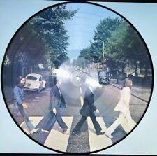 THE BEATLES - ABBEY ROAD 180 GRAM PICTURE DISC VINYL LP EUROPEAN IMPORT