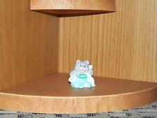 HALLMARK Merry Miniature 1992 KITTEN in Bib CAT