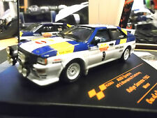 Audi Quattro turbo rally WM 1982 san remo winner blomqvist #9 swe vitesse 1:43