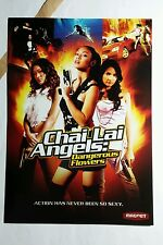 CHAI LAI ANGELS DANGEROUS FLOWERS ART 5x7 PAPER FLYER MINI POSTER (NOT A movie )