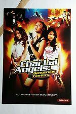 CHAI LAI ANGELS DANGEROUS FLOWERS ART 5x7 PAPER FLYER MINI POSTER (NOT A movie )