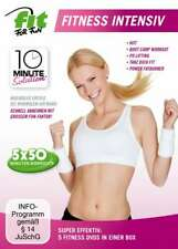 Fit for Fun - 10 Minute Solution: Fitness Intensive  [5 DVDs/NEU/OVP]