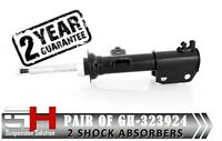 2 NEW FRONT OIL SHOCK ABSORBERS FOR RENAULT LAGUNA/GH-323924K