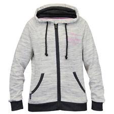 Maglie e camicie da donna con cappucci grigi