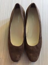 Footthrills Brown Suede Lady Shoes
