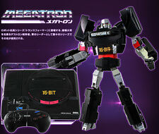 TRANSFORMERS Sega Genesis Mega Drive Megatron Video Game Console ACTION FIGURE