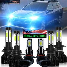 Para Subaru Outback 2005 2006 2007 2008 2009 Combo LED faro + luz antiniebla