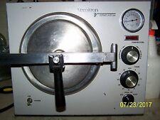 vernitron verniclave 2000 autoclave sterilizer   90 day warranty