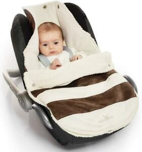 Wallaboo Footmuff Universal Soft Suede and fleece Lining Fitting 0 to 12 Months