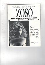 Rare Vintage Led Zeppelin Zoso Magazine April 1991 Vol V No Iv Ms1894