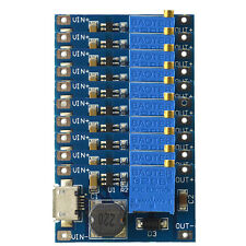 10X 2A  boost DC-DC adjustable step-up power conver module  2/24V to 5/12 / 28V