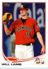 2013 Topps Pro Debut #9 Will Lamb (Prospect / Rookie Card) NM-MT