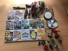 Nintendo Wii Rot Spielekonsole (PAL) mit vielen Spielen