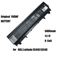 Genuine Laptop Battery 65WH 9 Cell fr DELL VVONF DELL Latitude E5440 E5540 VV0NF